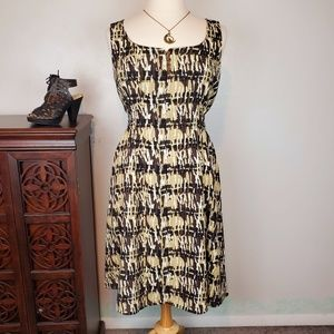 Axcess Sleeveless Back Tie Dress, XL
